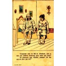 Anti-Semitic Comic Judaica French