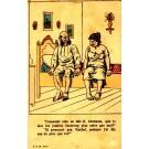 Anti-Semitic Comic Judaica French