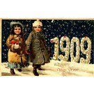 New Year 1909 Children HTL Novelty