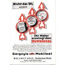 Advertising Mobil Oil German