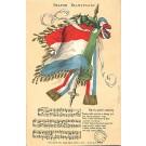Transvaal Flag Boer War Czech