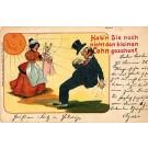 German Judaica Comic Child