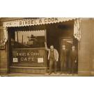 Bingel & Cook Cafe Front Real Photo