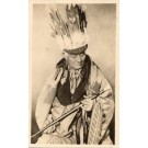 Indian Chief Navajo Real Photo