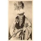 Indian Chief Navajo Real Photo