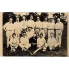 Cricket Team Real Photo