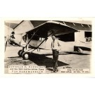 Douglas Corrigan Aviation Real Photo