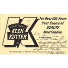 Advert Keen Kutter Saw