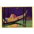 Art Deco Boat Romance Italian