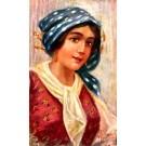 Italian Art Deco Girl Caralj