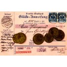 Coins Stamps Coupon German