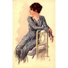 Italian Art Deco Girl
