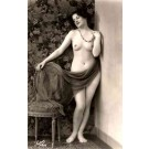 French Risque Nude Real Photo #796