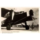Airplane Fokker Real Photo