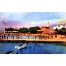 Boat Swimming Cuban Revolution