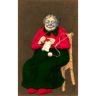 Knitting Old Woman RP Novelty