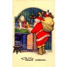 Santa Claus Teddy Bear Airplane