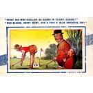 Golf Girl Humorous British