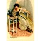 Lady & Tea Set Italian
