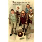 Bowling & Pipe Smoking Humorous