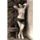 French Risque Nude #718 Real Photo