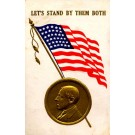 President Wilson WWI Advert Shoe