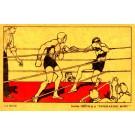Boxing Art Nouveau Spanish