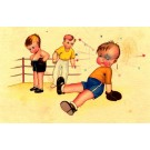 Boxing Boys Comic