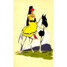 Lady Horse Serigraph CA