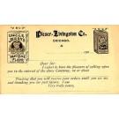 Advert Pieser-Livingston Flour Pioneer