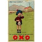 Advert Oxo Health Drink Scottish