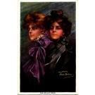 Artist Signed Boileau Art Nouveau