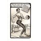 Bowling Player Comic