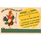 Advert Chicken Dish & Golf