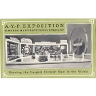 A.-Y.-P. Exposition Saw Advert