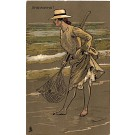 Fishing Woman Tuck