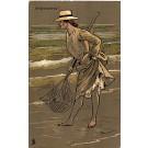 Fishing Woman Tuck