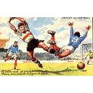 Soccer Game Art Nouveau Comic