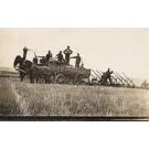 Horse-Drawn Wagon Steam Tractor RP