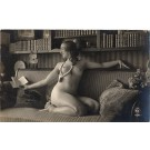 French Risque Nude Real Photo # 548