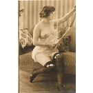 French Risque Nude Real Photo #542