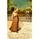 Tennis Playing Couple