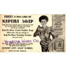 Advert Soap Laundry Lady
