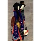 Japanese Art Nouveau Ladies Walk