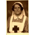 WWI Red Cross Nurse Real Photo