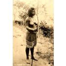 Black Zulu Girl Real Photo