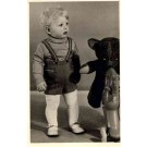 Boy with Teddy Bear and Toy Horse RP