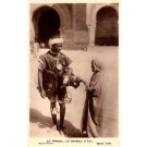 Black Morocco Vender Real Photo