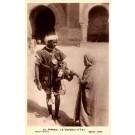 Black Morocco Vender Real Photo