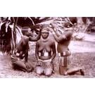 Blacks Zulu Maidens Real Photo